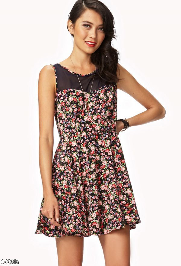 Floral Summer Dresses Tumblr 2015-2016Forever 21 Summer Outfits Tumblr