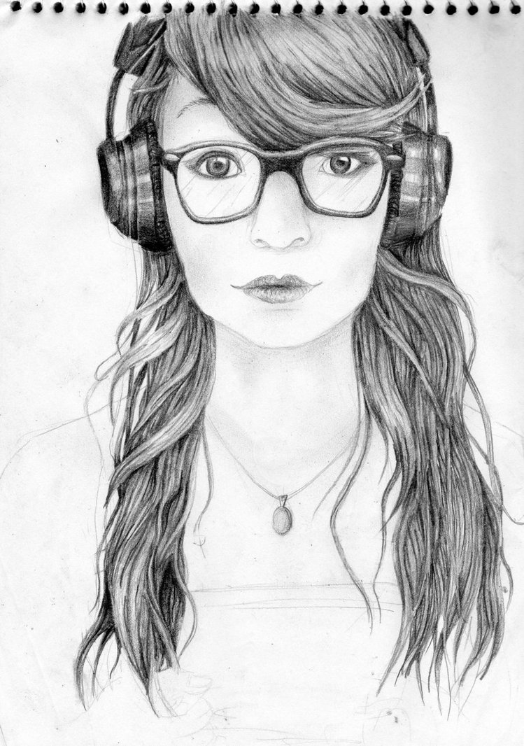 Drawing Tumblr Hipster | www.imgkid.com - The Image Kid ...