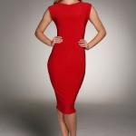 Donna_Red_Midi_Dress_-_Honor_Gold