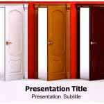 Doors_And_Rooms_Powerpoint_Templates_Powerpoint_Presentation_On_Doors_Template_Ppt_Background_On_Doors