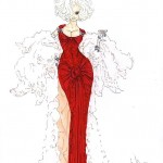 Fashion_Illustration_Lady_in_Red_-_Alex_Newton_Fashion_Art_Drawings__amp;_Illustration,_People__amp;_Figures,_Fashion,_Female_ArtPal
