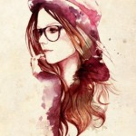 Hipster_Girl_Illustration_-_mimege.ru