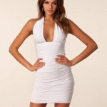 Marylin_Mini_Dress_-_Honor_Gold_-_White_-_Party_Dresses_-_Clothing_-_Women_-_Nelly.com_Uk