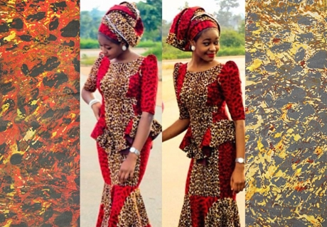 Modern african traditional wedding dresses images high quality