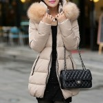 New_Arrival_Korean_Warm_Winter_Style_Detachable_Pure_Color_Fur_Collar_Coat