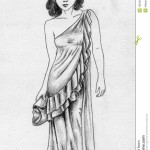 Old_Fashioned_Dress_Drawing_images