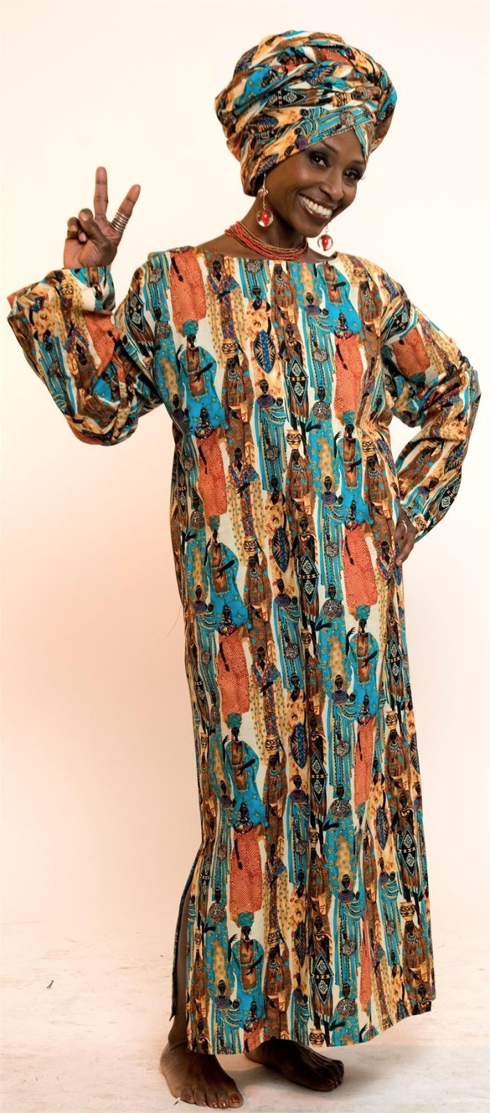 Plus size african traditional dresses