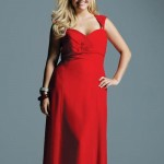 Plus_size_red_dress_uk_2016_pictures