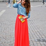 Red_Long_Flowly_Macys_Skirts,_Sky_Blue_Forever21_Jackets__