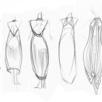 Simple_Dress_Designs_Drawings_WeddingInvitations.biz