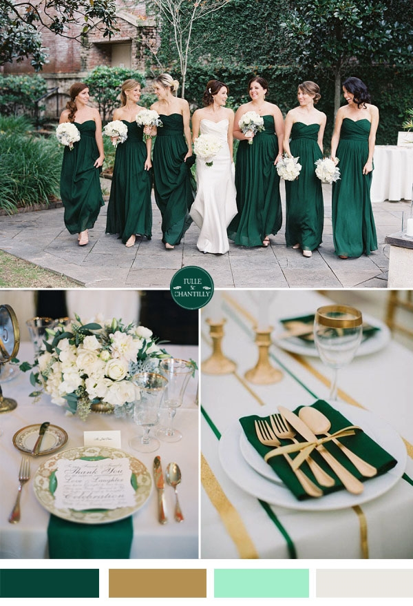 Wedding colors for fall 2016 2017 fashion trends 2016 2017 for Best wedding colour themes