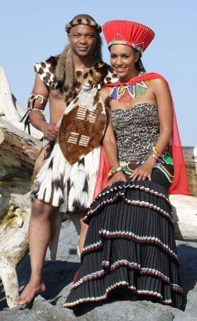 South African Traditional Outfits For Weddings