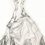 Trends_For_Fashion_Design_Drawing_Dress