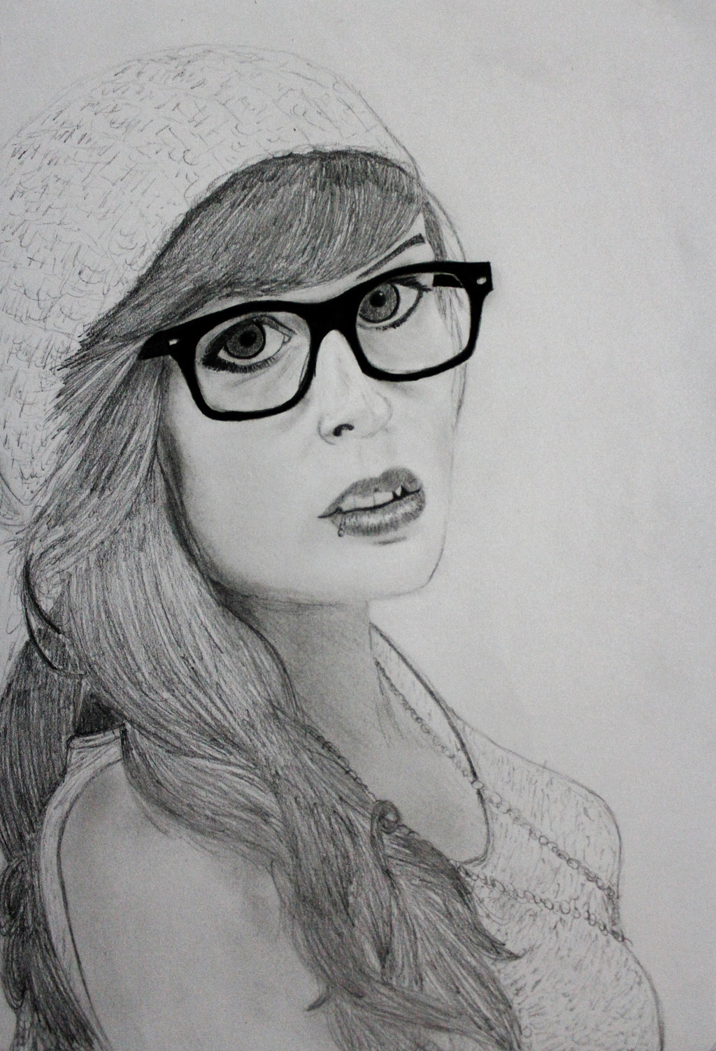 Tumblr hipster girl drawing | Shopping Guide. We Are ...