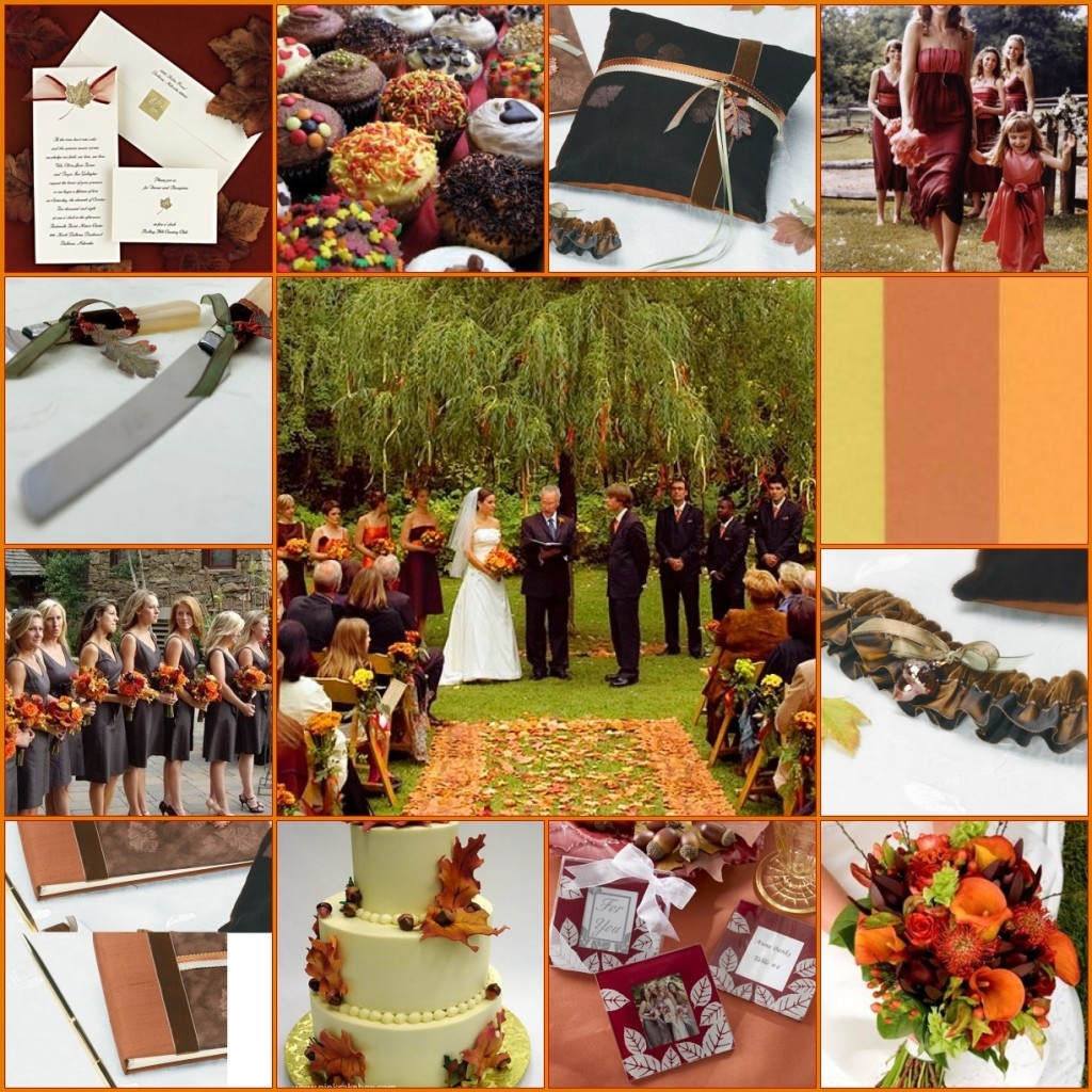 Wedding Themes And Colors: Wedding Colors For Fall 2016-2017