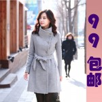 Womens_Fashion_Wool_Slim_Winter_Noble_Long_Trench_Coat_Outwear_Tops_with_Belt_eBay