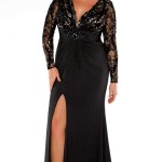 plus_size_evening_gowns_with_sleeves_eBay