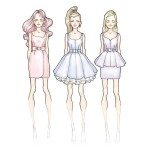 prom_dresses;_sketches_on_Behance
