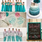 vibrant-turquoise-blue-wedding-color-idea-and-decor-for-spring-summer-wedding-2015