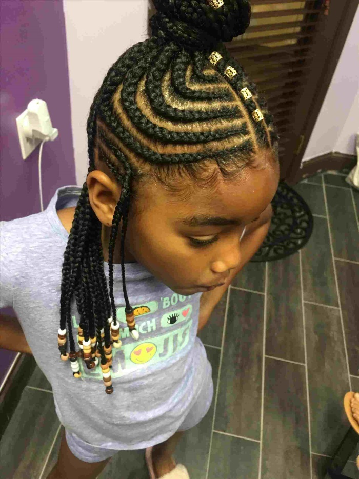 35+ French Braid Hairstyles For Kids | Shopping Guide. We