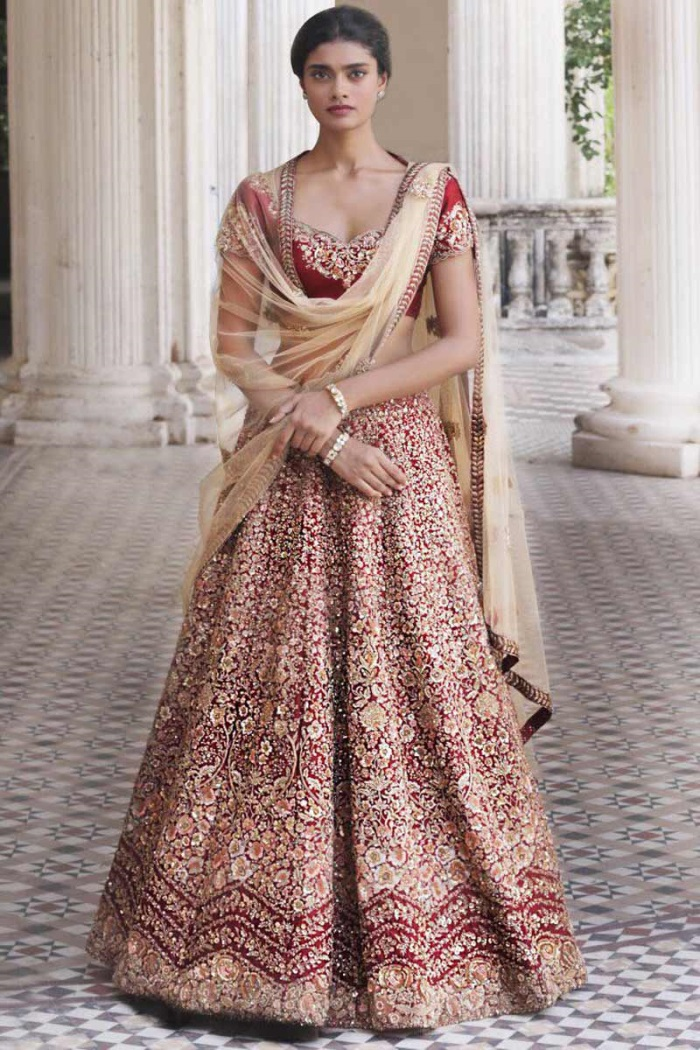 35 fashionable indian wedding dresses 20182019