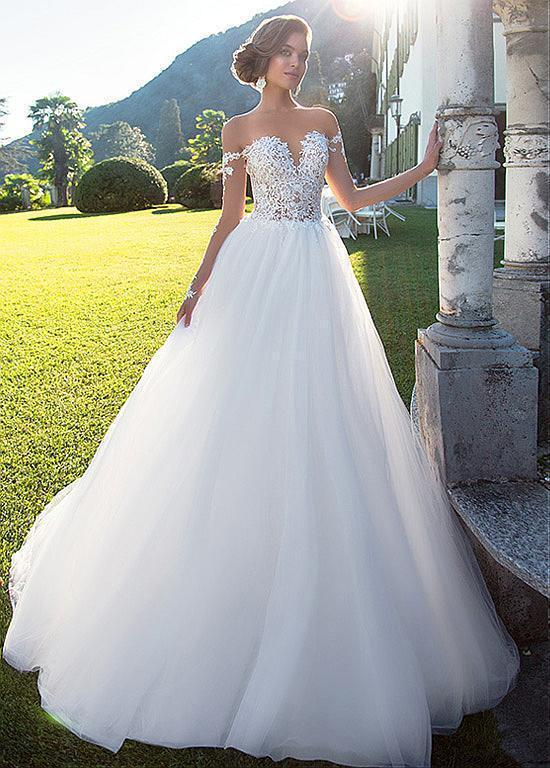 Cool A001white Ivory Mermaid Gown Bridal Lace Wedding Dress