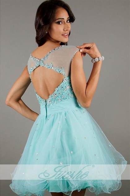baby blue dresses for homecoming