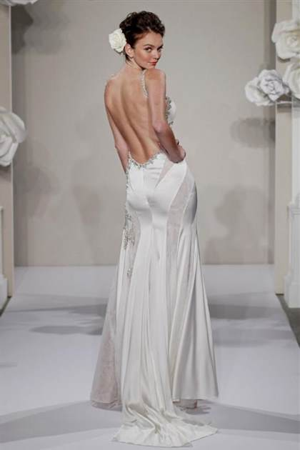 backless strapless wedding dresses
