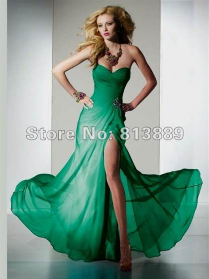 best green prom dresses