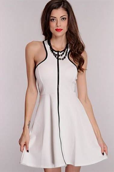 black and white party dresses for teenagers