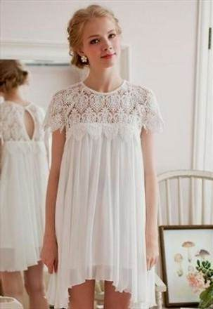 country white lace sundress