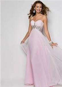 cute light pink prom dresses