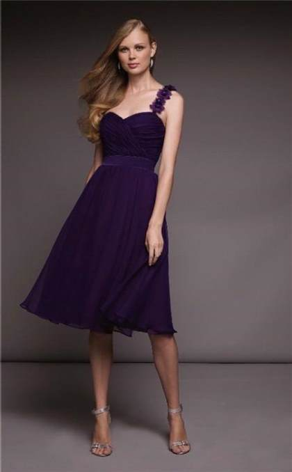 dark purple bridesmaid dresses under 100