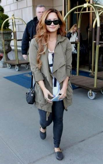demi lovato casual dress