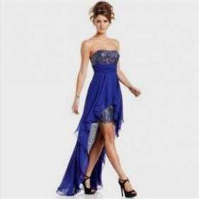 high low dresses for juniors strapless
