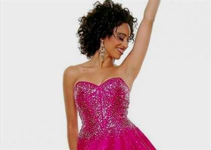 hot pink sequin dress