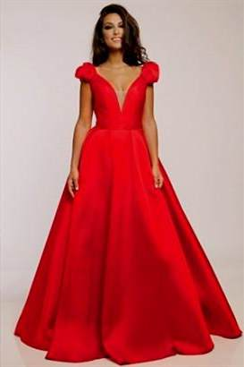 jovani prom dresses red
