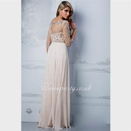 long dresses with sleeves for prom