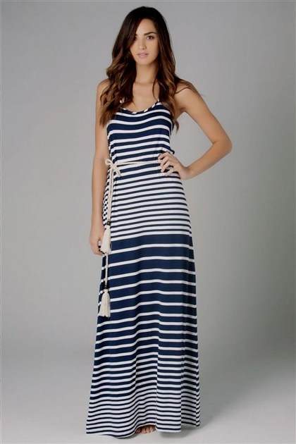 nautical maxi dress maternity