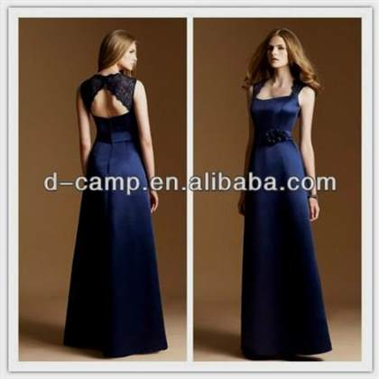 navy blue bridesmaid dresses with lace