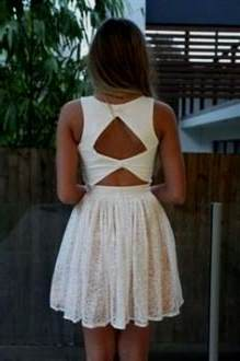 open back casual summer dresses