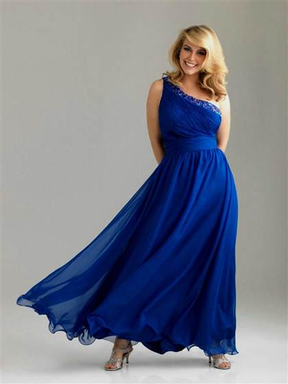 plus size prom dresses one shoulder
