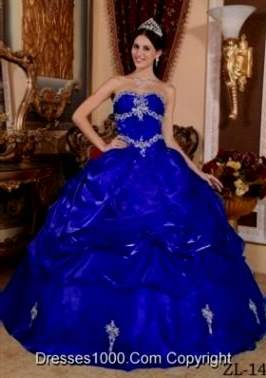 quinceanera dresses royal blue and gold
