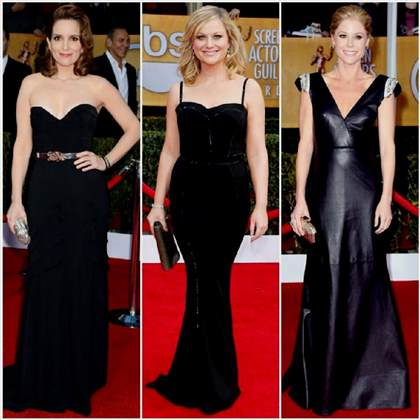 red carpet black dresses