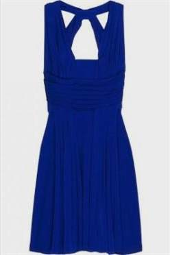royal blue sundress