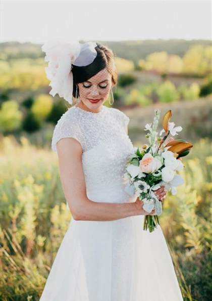 rustic vintage wedding dress