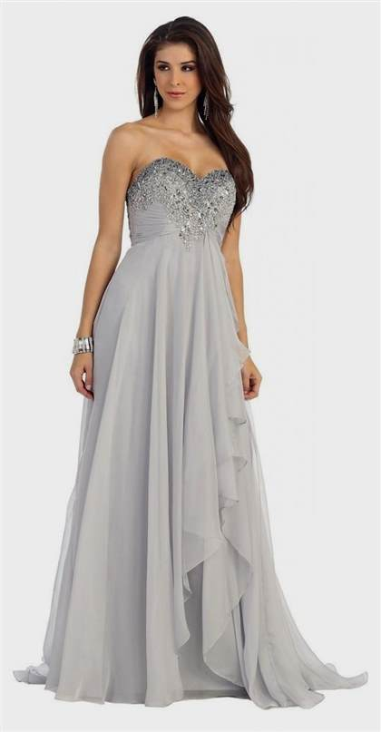 silver winter formal dresses