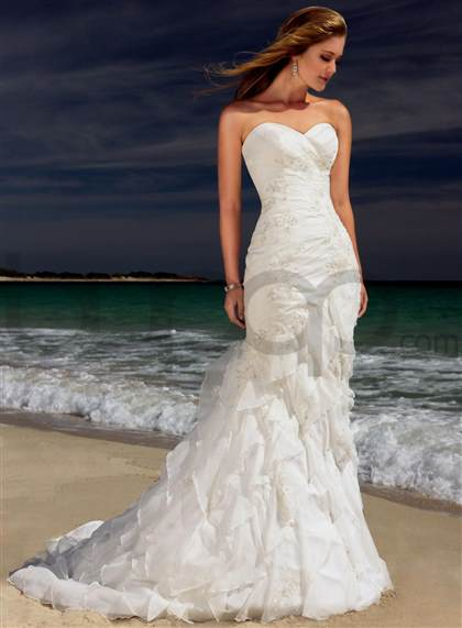strapless mermaid wedding dress tumblr