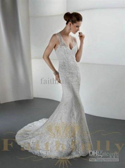 unique lace mermaid wedding dresses