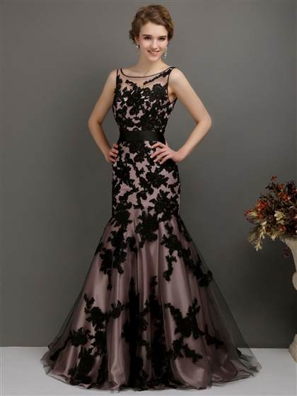 vintage lace evening gown